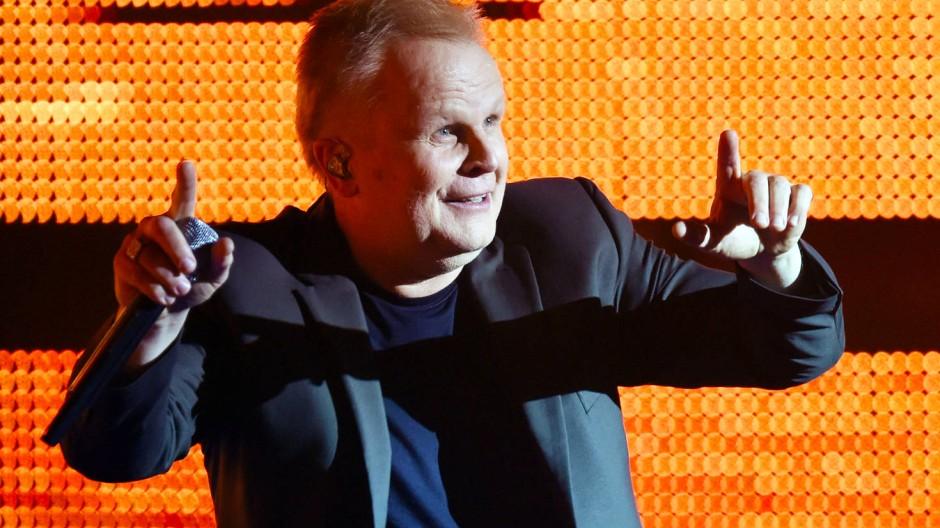 Herbert Grönemeyer bei der Aufzeichnung einer Fernsehshow Mitte September