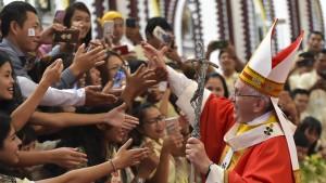 Enttäuschung nach Papstbesuch in Burma