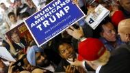 Muslimischer Verein unterstützt Trump