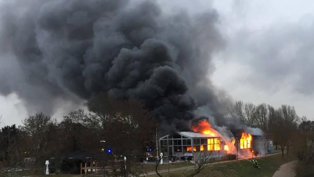 Gießener Restaurant völlig zerstört