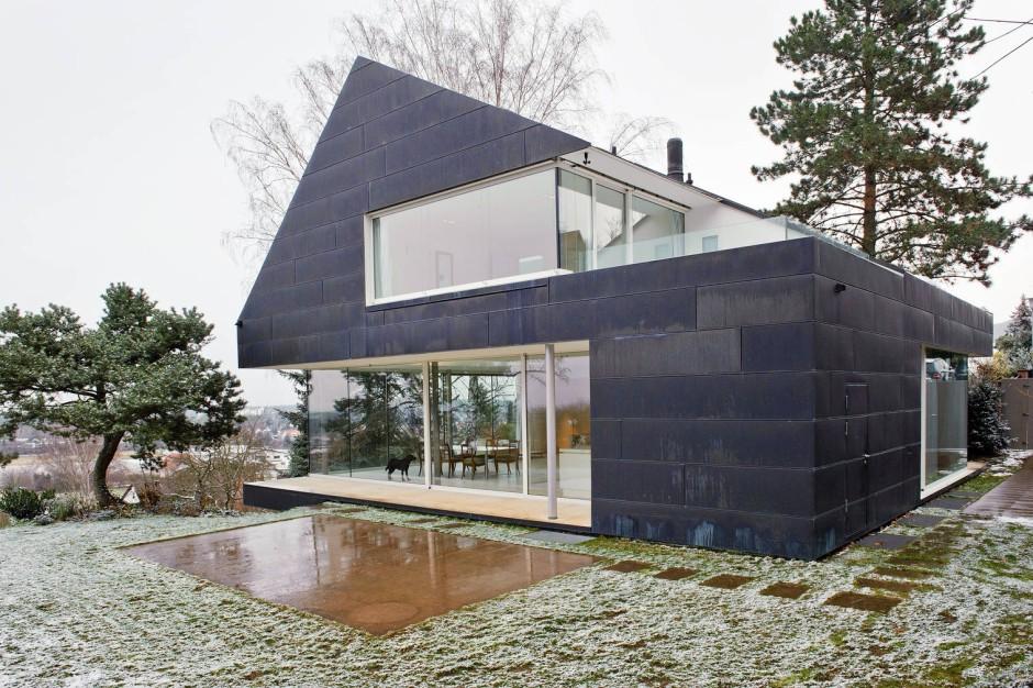 kupferfassaden patina ante portas immobilien faz. Black Bedroom Furniture Sets. Home Design Ideas