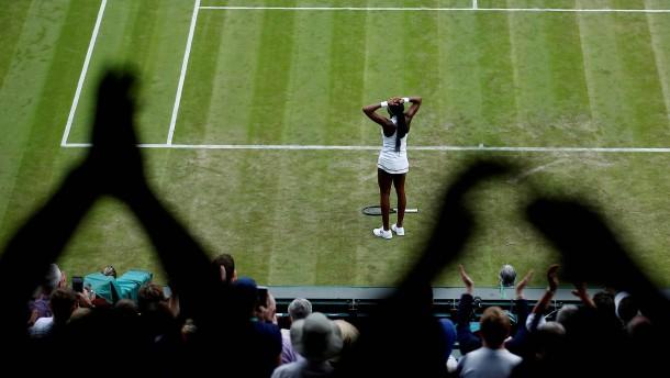 15 Jahre alte Cori Gauff schlägt Venus Williams