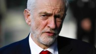 Labour-Chef Jeremy Corbyn im Februar in Brüssel