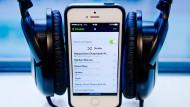 Neue Bestmarke für Spotify: 50 Millionen zahlende Kunden.