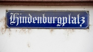 Ehrenwerter Hindenburg