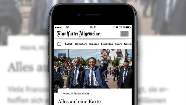 Die neue FAZ.NET-App