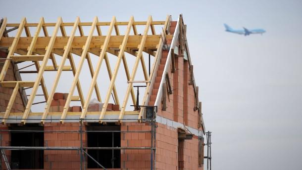Städte weisen trotz Fluglärm Baugebiete aus