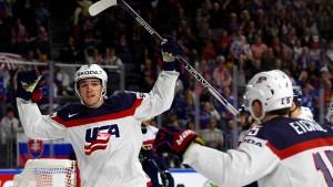 Russland und Amerika sicher im Viertelfinale