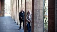 Pfarrer Holger Daniel und Andrea Krawinkel