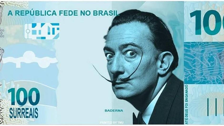 "Getreu dem Surrealismus: Salvador Dalí ziert die ""Surreal""-Banknote"