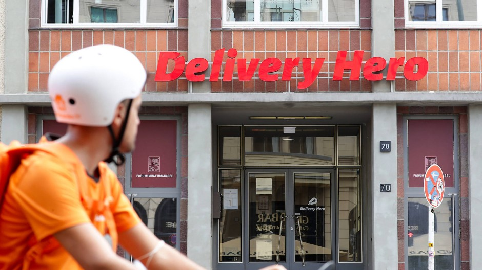 Eine Delivery-Hero-Filiale in Berlin im August 2020