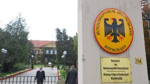 Deutschland schließt Botschaft in der Türkei
