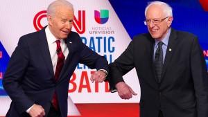 Bernie Sanders gibt auf – Weg frei für Joe Biden