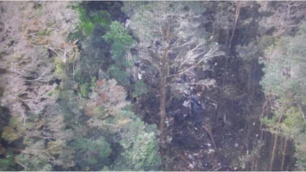 Keine Überlebenden nach Flugzeugabsturz