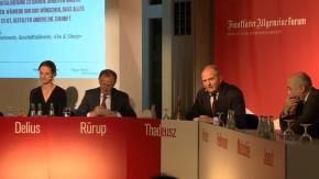 """Diskussion in Berlin: """"Deutschland verschläft die Zukunft"""""""