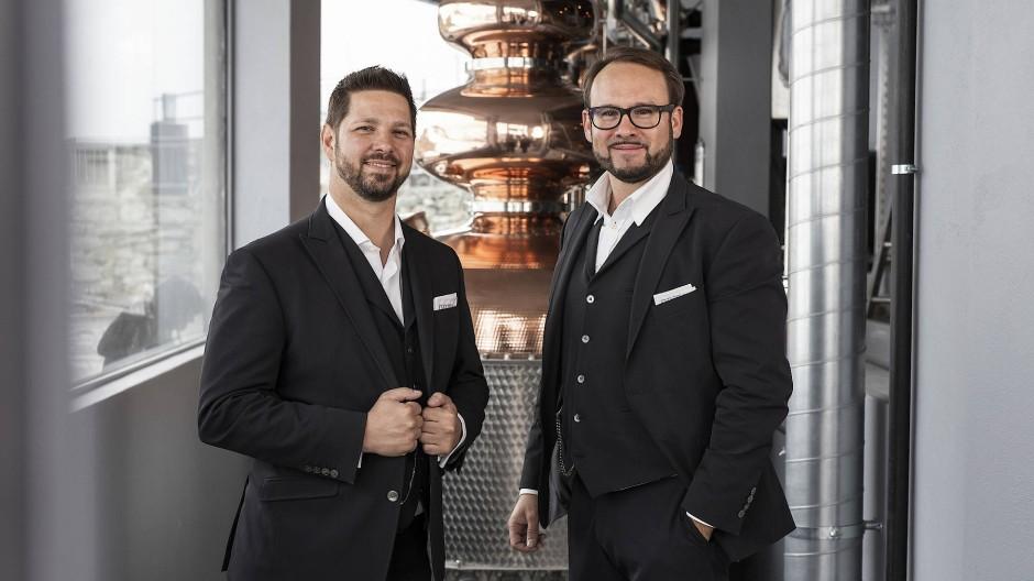 Wollen hoch hinaus: Pascal Mittner (links) und Rinaldo Willy
