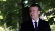 Künftige Regierungskoalition Macrons in der Krise