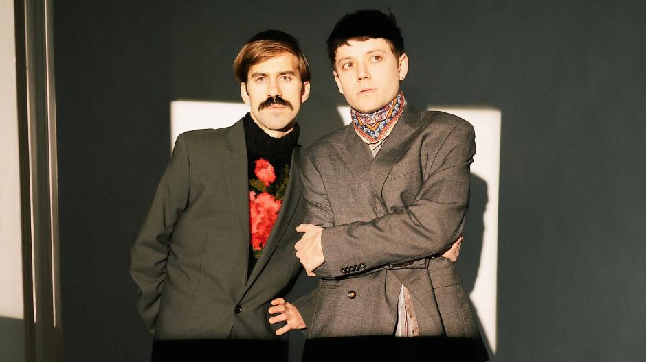 Wie viele Räume hat der Plan ihres Baus? Bassist Hjörtur Hjörleifsson (links) und Sänger Ariel Oehl.