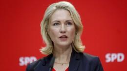 Schwesig tritt wegen Krebserkrankung von SPD-Vorsitz zurück