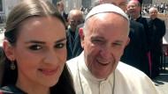 Höhepunkt des Jahres: Lena Bröder beim Papst.