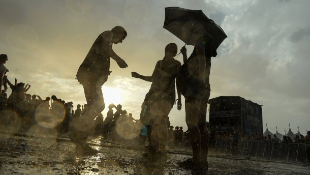 Organisatoren unterbrechen Southside-Festival