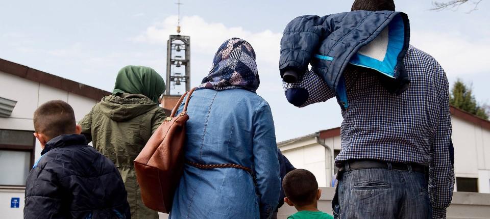 Inzwischen sehr beliebt: Familiennachzug von Flüchtlingen.