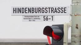 Immer wieder Streit um Hindenburg