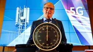 5G-Auktion knackt Drei-Milliarden-Euro-Marke