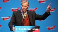 Armin-Paul Hampel beim Bundesparteitag 2017 in Köln