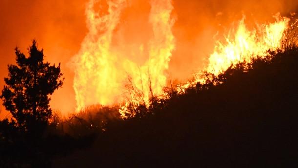 Die größten Waldbrände der vergangenen 30 Jahre