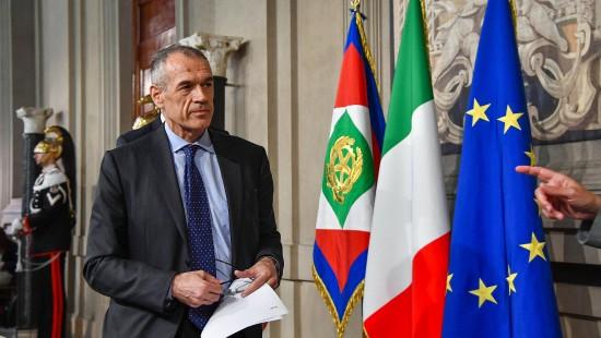 Cottarelli soll Übergangsregierung bilden