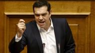 Tsipras setzt voll auf Schuldenerleichterung