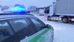 Schnee und Eis sorgen für Verkehrschaos