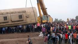 Tote und Verletzte bei Zugunglück in Ägypten