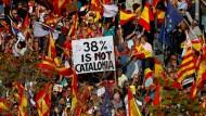 Hunderttausende demonstrieren in Barcelona für Einheit