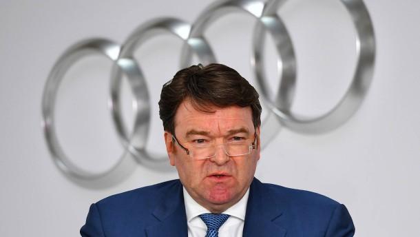 Neuer Audi-Chef droht mit Jobabbau