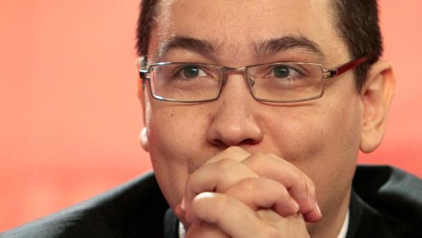 Ministerpräsident Ponta bestreitet Plagiat