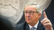Juncker droht Frankreich und Italien
