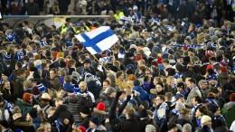Finnland erstmals bei einem großen Turnier