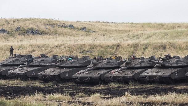 Russland und Türkei verurteilen Golanhöhen-Vorstoß