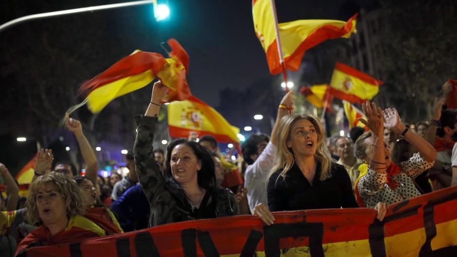 Heute abend wird in Barcelona die Unabhängigkeit gefeiert, aber was wird morgen sein?