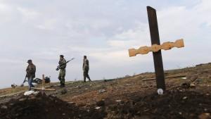 Fast 2600 Tote im Ukraine-Konflikt