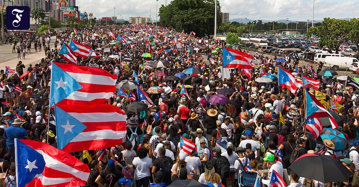 Puerto Rico: Massenprotest gegen Gouverneur legt Hauptstadt lahm