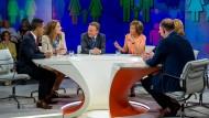 """Maybrit Illner und ihre Gäste diskutieren die """"Ehe für alle""""."""