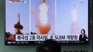 Kritik an Nordkoreas Raketentest