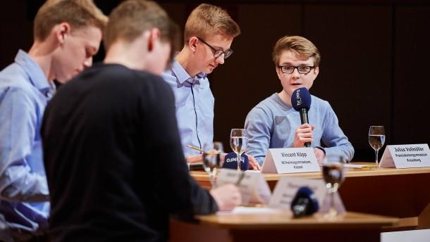 """""""Jugend debattiert"""" bekommt mehr Geld"""