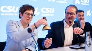 Wieder ein Stück Entmachtung Merkels