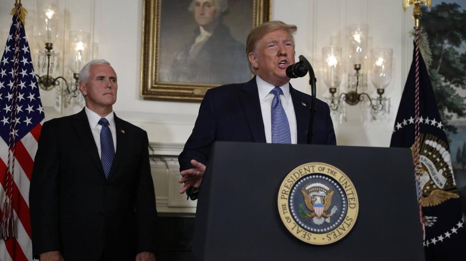 Trump verurteilt Rassismus und kritisiert Computerspiele