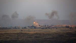 Israel greift wieder syrische Stellung an