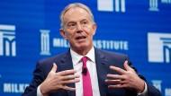 Bereit, sich wieder die Hände schmutzig zu machen: der ehemalige britische Premierminister Tony Blair.